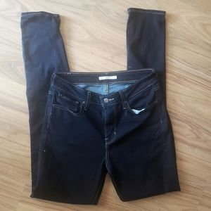 LEVIS 721 high rise skinny jeans- Size 29